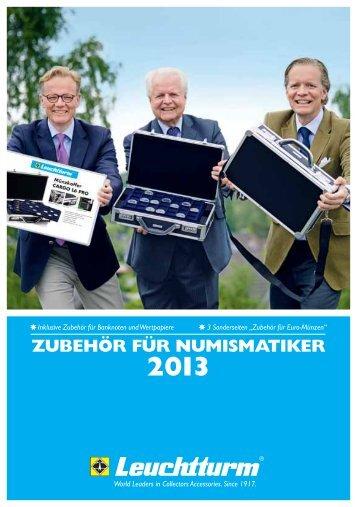ZUBEHÖR FÜR NUMISMATIKER - Leuchtturm