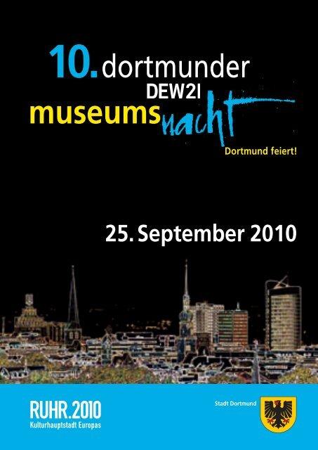 Programm Museumnsnacht [pdf, 3,7 MB] - Dortmund.de