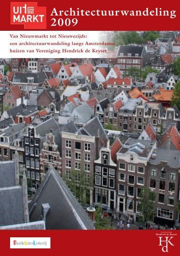 Brochure Uitmarkt versie Emmy:Architectuurwandeling