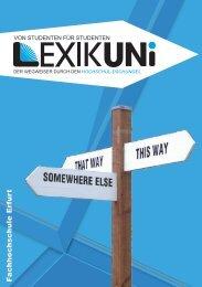 Lexikuni WS 2012/13 Fachhochschule Erfurt