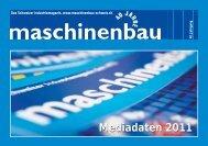 Mediadaten 2011 - Maschinenbau