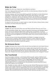 Bilder der Folter Der dicke Mann Die Schwarze Sonne Das Trust ...