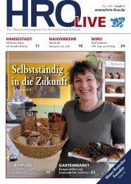 Hinter Rostocker Fassaden - HRO·LIFE - Das Magazin für die ...