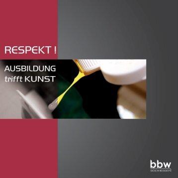 Katalog - Ausbildung trifft Kunst - KLIEBIWEB.COM
