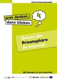 Schutz der Privatsphäre im Internet - Saferinternet.at