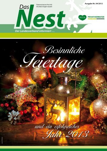 Veranstaltungen 2013 - Privatzimmer und Ferienwohnungen in der ...