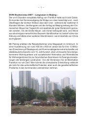 Mitgliederreise des DVW Baden-Württemberg nach Peking