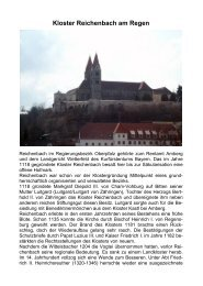 Kloster Reichenbach am Regen - Rudolf Weber