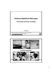 Autismus-Spektrum-Störungen: Forschung und Praxis im Dialog