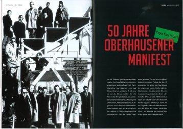 Thema - Oberhausener Manifest