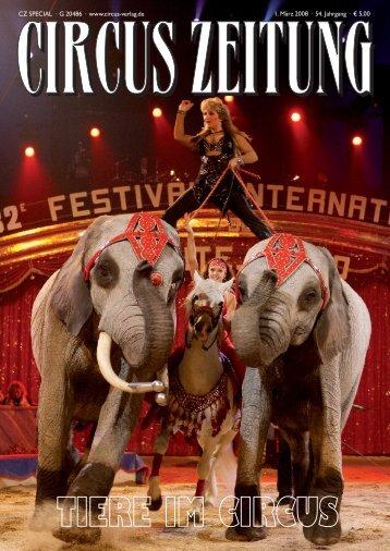Tiere im Circus - Hier finden Sie demnächst die Internet-Präsenz der ...