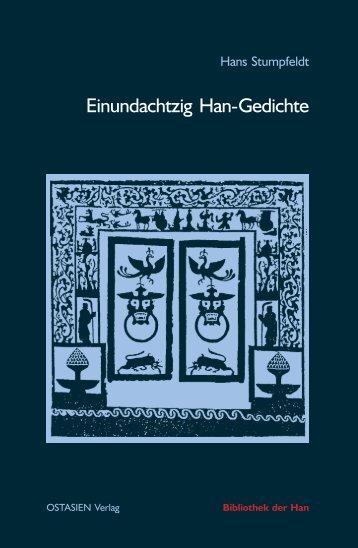 Einundachtzig Han-Gedichte - Bibliothek der Han