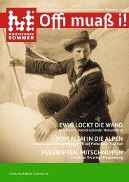 Montafoner Sommer Zeitung - Stand Montafon