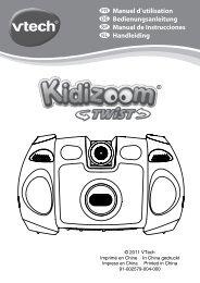 Bedienungsanleitung für Kidizoom Twist Digitalkamera (PDF)