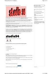 Page 1 of 1 Nemetschek AG - Feedback 11.12.2008 http ...