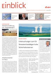 Untersuchungen zum EU - E.ON Kernkraft GmbH