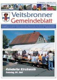 Appendorf / Hassberge Wanderführer: Erhard Popp (ASV) - Veitsbronn