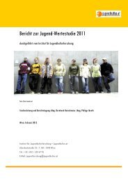 Bericht zur Jugend-Wertestudie 2011 - Arbeiterkammer Wien