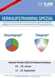 VERKAUFSTRAINING SPEZIAL - KAM Akademie Hamburg
