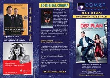 3D DIGITAL CINEMA - Cineprog