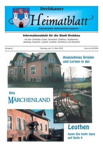 Märchenland Leuthen - Stadt Drebkau