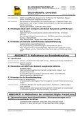 Ottokraftstoff (D) - Sicherheitsdatenblätter - Seite 5