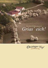 Speisekarte (klein, 2.6MB) - Deisinger Hof