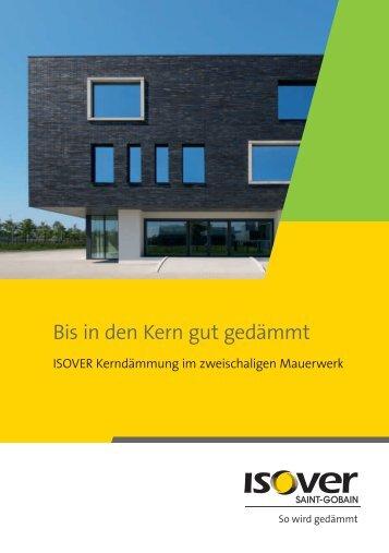 Broschüre Kerndämmung - Isover