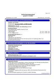 Sicherheitsdatenblatt Bio-Diesel (FAME   RME)