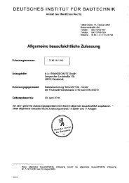 deutsches institut für bautechnik - BTI Befestigungstechnik GmbH ...