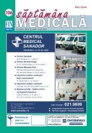 sm - 106.qxp - Saptamana Medicala