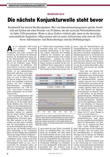 Zyklus oder Zufall? - Trillium GmbH