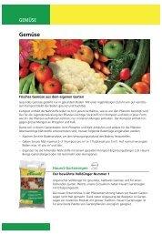 Gemüse - Hauert.com