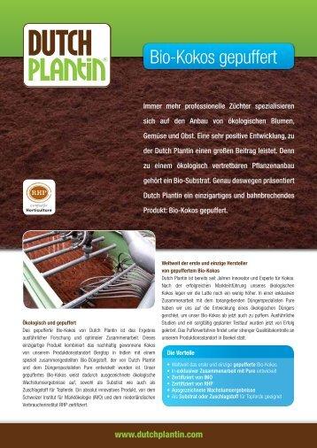 Bio-Kokos gepuffert - Dutch Plantin
