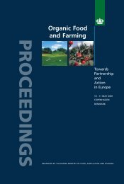PROCEEDINGS - Organic Europe