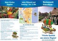 finden Sie die Infobroschüre zum Wochenmarkt (PDF