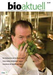 Der Hohepriester der Kochkunst Seite 4 Schon wieder ein Bioboom ...