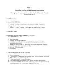 INFORME FINAL - CEUR Centro de Estudios Urbanos Regionales ...