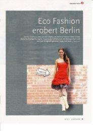 Eco Fashion Berlin - Shopping