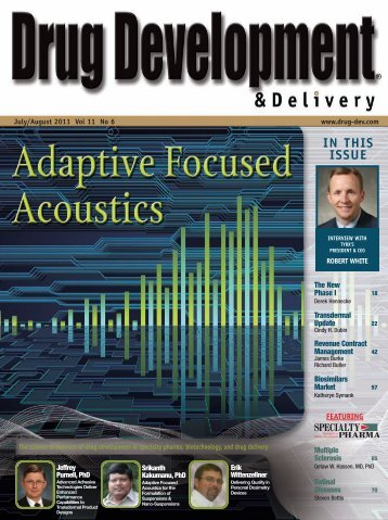 view entire issue - Drug Development & Delivery