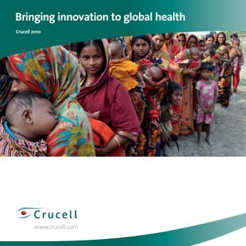 Crucell corporate brochure (PDF)