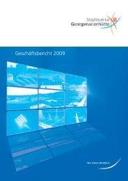 Geschäftsbericht 2009 - Stadtwerke Georgsmarienhütte GmbH