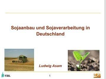 Vortrag Ludwig Asam FibL