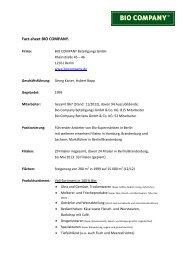 als pdf - Bio Company