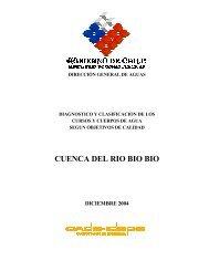 CUENCA DEL RIO BIO BIO - Sinia