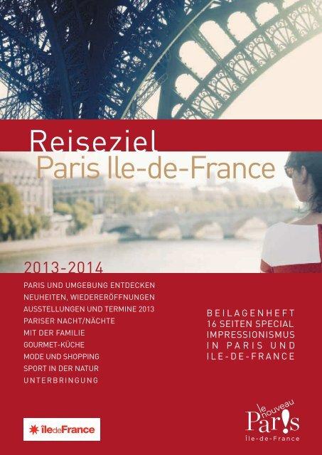 Reiseziel Paris Ile-de-France - Espace professionnel ...