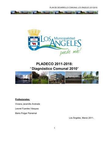 PLADECO 2011-2018 - Municipalidad de Los Angeles