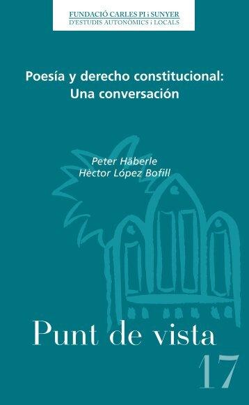 Poesía y derecho constitucional: Una conversación - Fundació ...