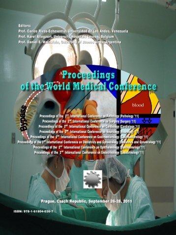 Proceedings of the World Medical Conference - Wseas.us