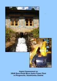 Impact Assessment on 35kW Basa Khola Micro - EnergyPedia